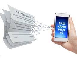kích hoạt bảo hành điện tử qua sms